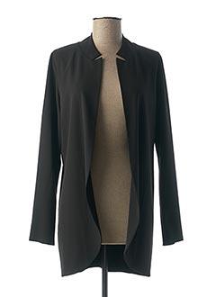 Veste casual noir LA FEE MARABOUTEE pour femme