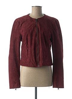 Veste casual rouge LA FEE MARABOUTEE pour femme