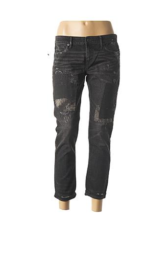 Jeans boyfriend noir RALPH LAUREN pour femme