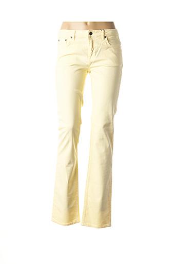 Pantalon casual jaune GANT pour femme