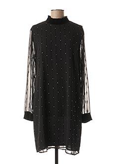 Robe courte noir ESQUALO pour femme