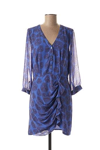 Robe courte bleu LES P'TITES BOMBES pour femme