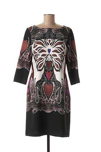 Robe courte noir DIVAS pour femme