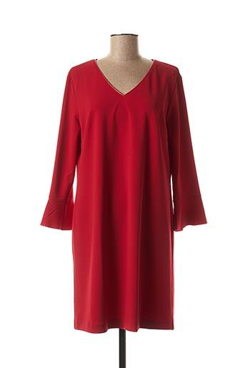 Robe courte rouge DIVAS pour femme