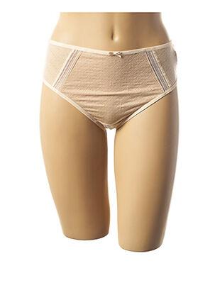 String/Tanga beige FANTASIE pour femme