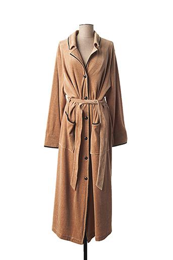 Robe de chambre marron RÖSCH pour femme