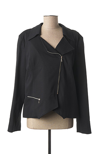 Veste chic / Blazer noir KARTING pour femme