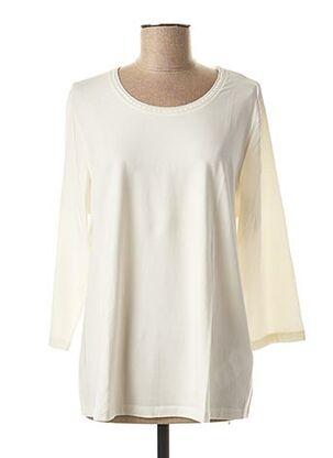 T-shirt manches longues blanc BASLER pour femme
