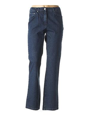 Jeans coupe droite bleu KARTING pour femme