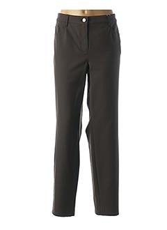 Pantalon casual vert BASLER pour femme