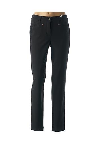 Pantalon casual bleu BASLER pour femme