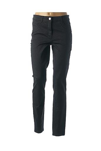 Pantalon casual noir BASLER pour femme