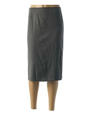 Jupe mi-longue gris BASLER pour femme