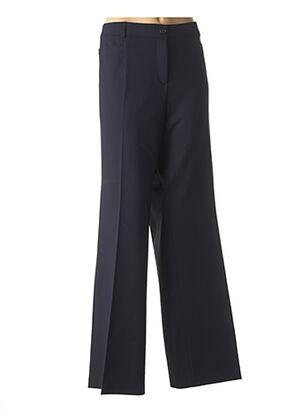 Pantalon chic bleu BASLER pour femme