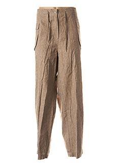Pantalon casual beige EPICEA pour femme