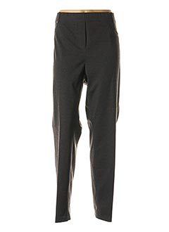 Pantalon casual gris JEAN GABRIEL pour femme