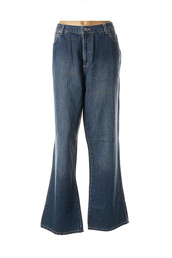 Jeans bootcut bleu CAPUCCINA pour femme