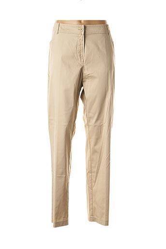 Pantalon casual beige FUEGOLITA pour femme