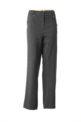 Pantalon casual gris PAUSE CAFE pour femme