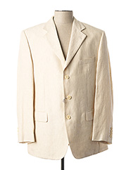Veste chic / Blazer beige BOZZALLA & LESNA pour homme seconde vue
