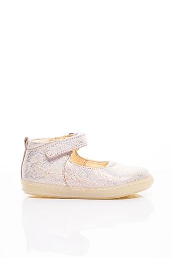 Sandales/Nu pieds beige SHOO POM pour fille
