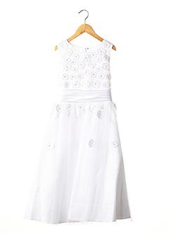 Robe longue blanc FRUITY FUN pour fille