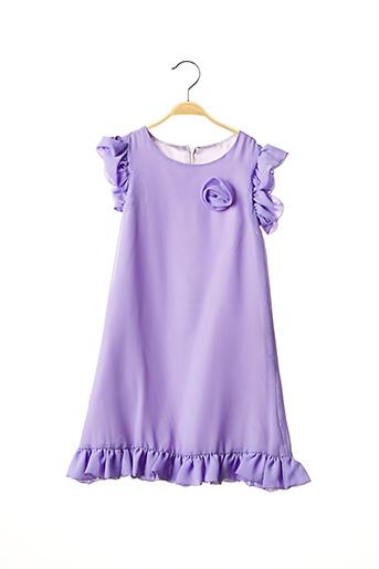 Robe longue violet PASSANELA pour fille