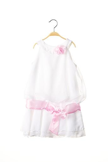Robe mi-longue blanc LE DRESSING DE LOLA pour fille