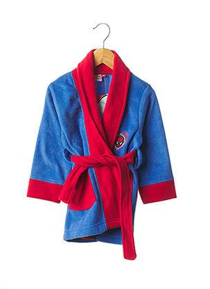 Robe de chambre bleu SPIDER MAN pour garçon