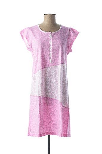 Chemise de nuit rose ARABESCO pour femme