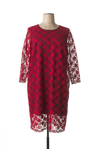 Robe mi-longue rouge JEAN DELFIN pour femme