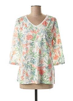 T-shirt manches longues vert CONCEPT K pour femme