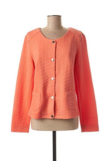 Veste casual orange DIANE LAURY pour femme