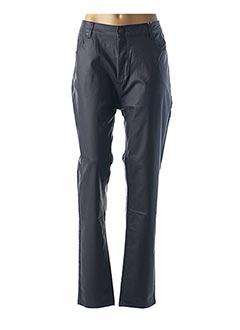 Pantalon casual bleu TELMAIL pour femme