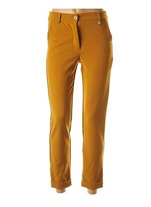 Pantalon 7/8 jaune LE PETIT BAIGNEUR pour femme