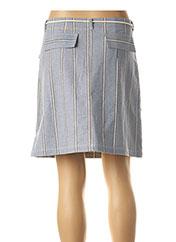 Jupe courte bleu LE PETIT BAIGNEUR pour femme seconde vue