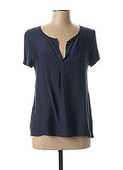 T-shirt manches courtes bleu POUSSIERE D'ETOLE pour femme seconde vue