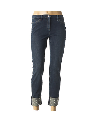 Pantalon 7/8 bleu BRAX pour femme