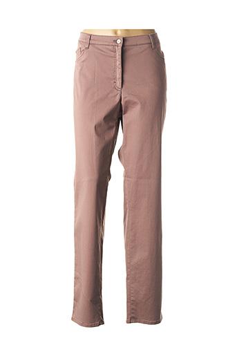 Pantalon casual rose BRAX pour femme