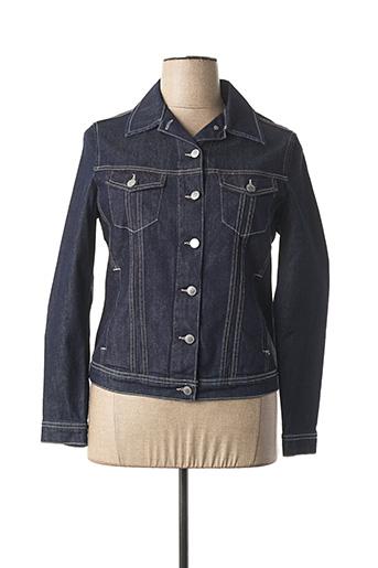 Veste casual bleu COWEST pour femme