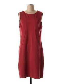 Robe mi-longue rouge BLEU BLANC ROUGE pour femme