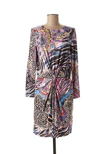 Robe courte gris DANEVA pour femme