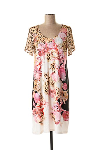 Robe courte rose FUEGOLITA pour femme
