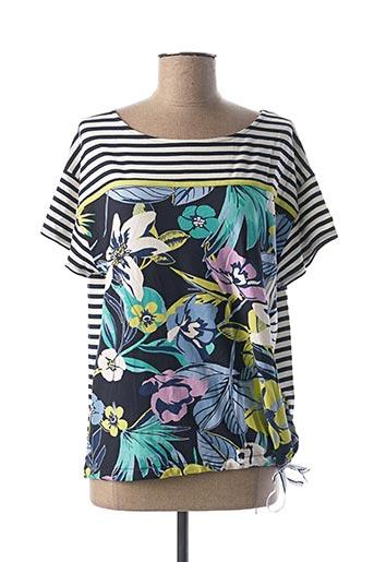 T-shirt manches courtes bleu BETTY BARCLAY pour femme