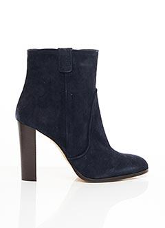 Bottines/Boots bleu COSMOPARIS pour femme
