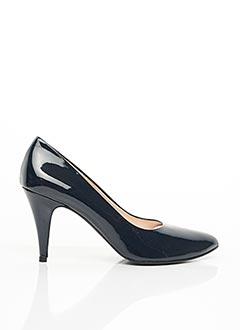 Escarpins bleu ANNA VOLODIA pour femme