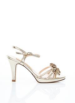 Sandales/Nu pieds beige ANNA VOLODIA pour femme