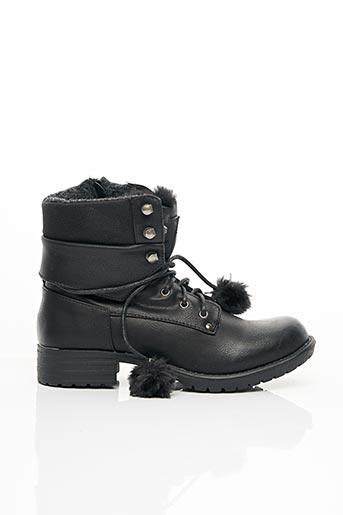 Bottines/Boots noir BULLBOXER pour fille