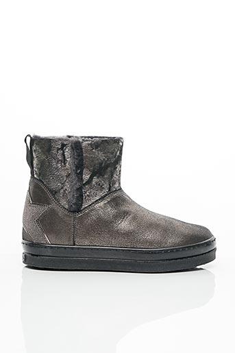 Bottines/Boots noir UNISA pour fille