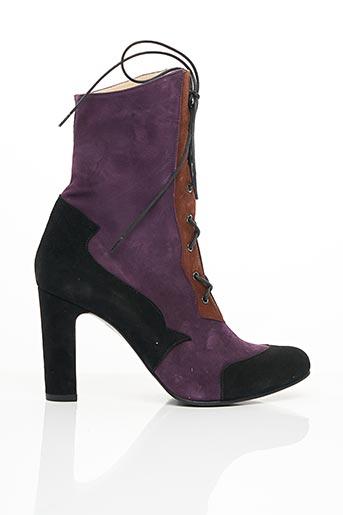 Bottines/Boots violet ANNA VOLODIA pour fille
